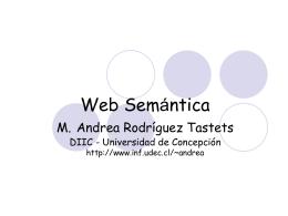 semanticWWW - Universidad de Concepción