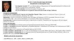 M.C. Carlos G López