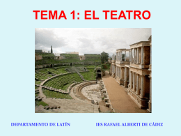 1. Teatro - WordPress.com