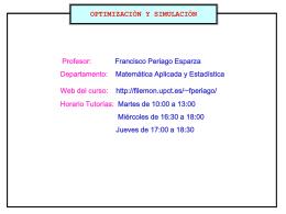 Algoritmos numéricos usados en prácticas