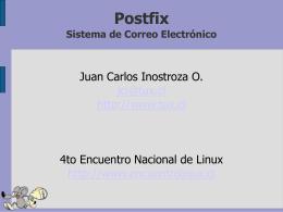 Formato  - 4to Encuentro Linux