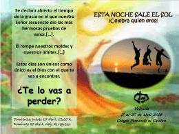 pascua_2014 - Religiosas de Jesús y María en España