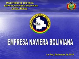 La Empresa Naviera Boliviana