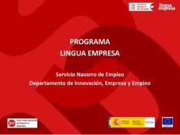 Diapositiva 1 - Gobierno de Navarra