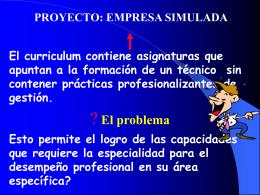 PROYECTO: EMPRESA SIMULADA