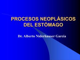 Procesos Neoplásicos del Estómago