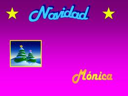 la navidad monica