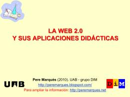 MODELOS DIDÁCTICOS - Web de Pere Marquès