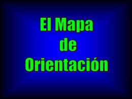 El mapa de Orientación