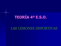 TEORÍA 4º E.S.O.