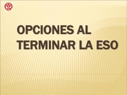 campo profesional - Consellería de Educación e Ordenación