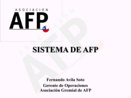 Sistema de AFP