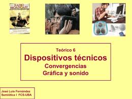 Teorico-Dispositivos - Semiótica I – Fernández