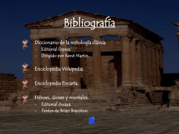 Bibliografía... - Colegio San José