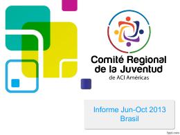 Diapositiva 1 - Alianza Cooperativa Internacional en las Américas