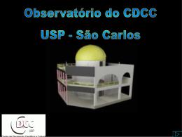 Evolução Estelar - CDCC - Universidade de São Paulo