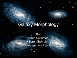 Galaxy Morphology - Center for Adaptive Optics