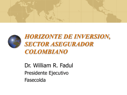 Horizonte de inversion - Superintendencia Financiera de Colombia