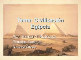 la antigua civilizacion de egipto