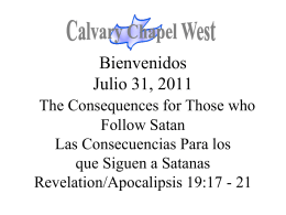 Celebrare Tu Amor - Calvary Chapel West
