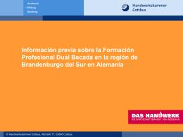 2. Información general sobre la FP Dual en …Alemania