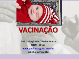 Vacinação - Paulo Roberto Margotto