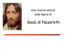 Ricerca storica su Gesù di Nazareth