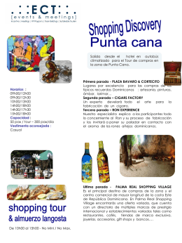 Shopping discovery Punta Cana