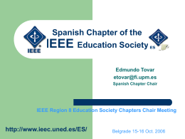 ieee es 2006 R. European Chairs