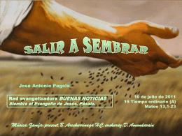 SALIR A SEMBRAR