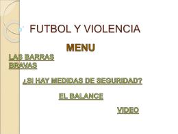 FUTBOL Y VIOLENCIA (801280)