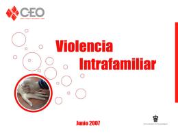 Estudio - Violencia Intrafamiliar