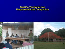 Gestión Territorial con Responsabilidad Compartida