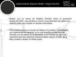 ver presentación Ampay Donofrio