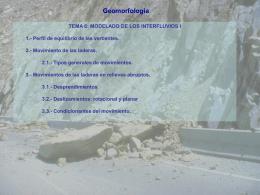 Geomorfología 4 y 5.