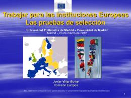 Slide 1 - Universidad Politécnica de Madrid