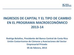 Presentación Banco Central