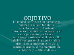 OBJETIVOS - DEL.ORG.BO