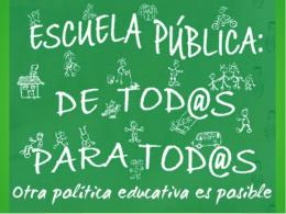 Recortes educativos en Andalucía: Presentación
