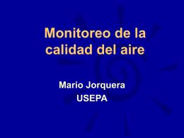 Monitoreo de la Calidad del Aire (versión Powerpoint)