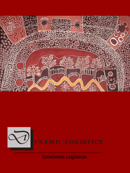 folleto 2004 - DYNAMIC LOGISTICS soluciones logisticas