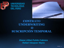 underwriting no en firme