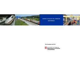 Agenda Catalana del Corredor Mediterrani