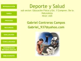 Título Webquest - deporteyvidaactiva