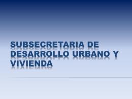 ARGENTINA: Sistemas Constructivos. SSDUV