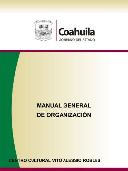 Manual de Organización Finanzas