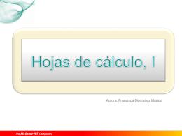 ¿Qué es una hoja de cálculo?
