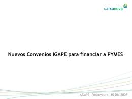 Ponencia Convenios IGAPE-PYMES