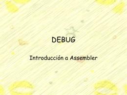 DEBUG - Profesor Cesar Guisado