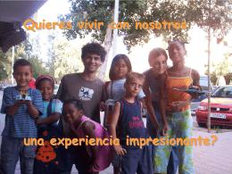 Quieres vivir con nosotros una experiencia impresionante?